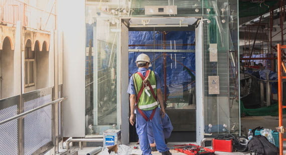 TÜV SÜD'S LIFT SAFETY TESTING FOR TALL BUILDINGS
